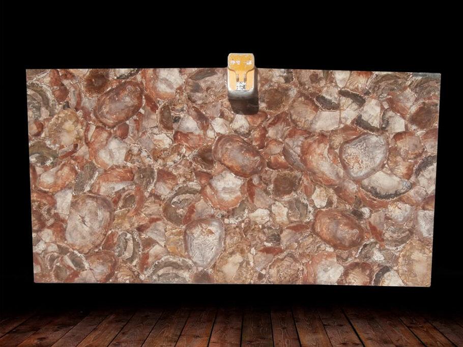 Brown Petrified Wood Semi Precious Gemstone