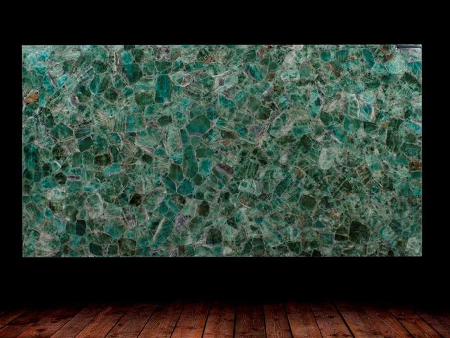 Emerald Fluorite Semi Precious Gemstone