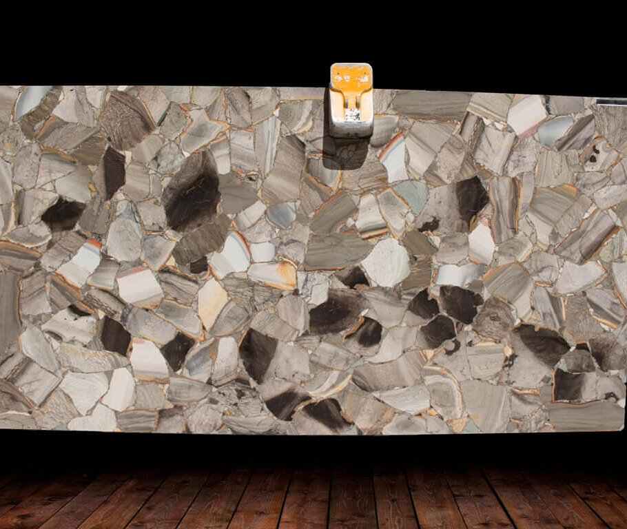 Shellflint Semi Precious Gemstone