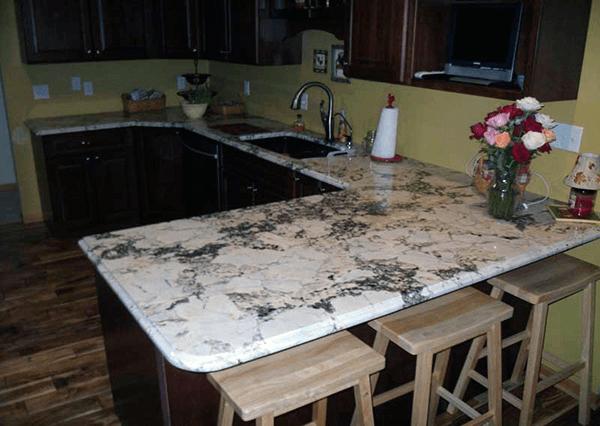 White Platinum Granite 17892