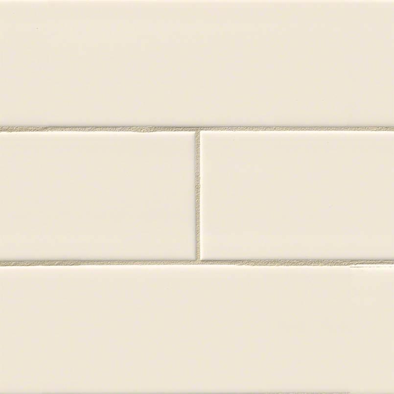 Almond Glossy Subway 4×16