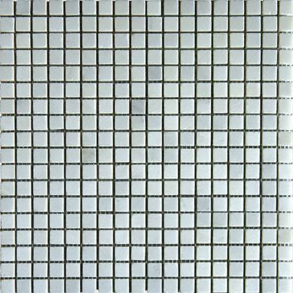 Arabescato Carrara 58×58 Honed In 12×12 Mesh