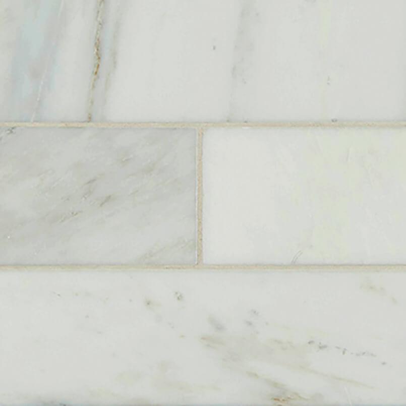 Arabescato Carrara Subway Tile 4×12