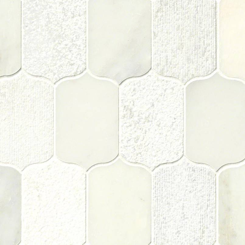 Calypso Blanco Lotus Pattern Multi Finish