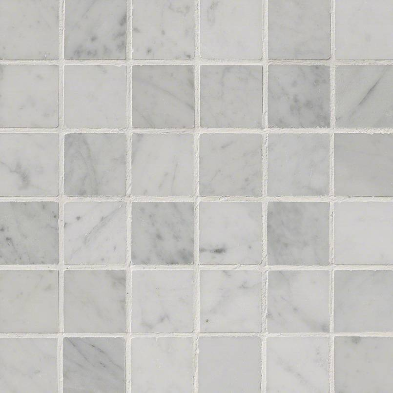 Carrara White 2×2 Polished