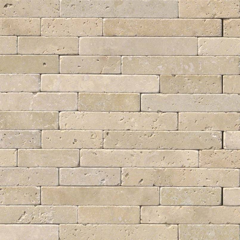 Chiaro Travertine Tumbled Veneer 8×18