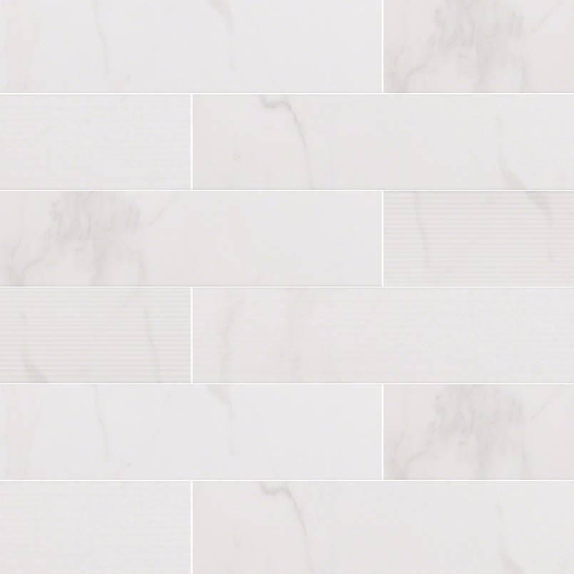 Classique White Calacatta Subway Tile 4×16
