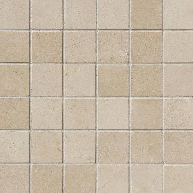 Crema Marfil 2×2 Polished In 12×12 Mesh