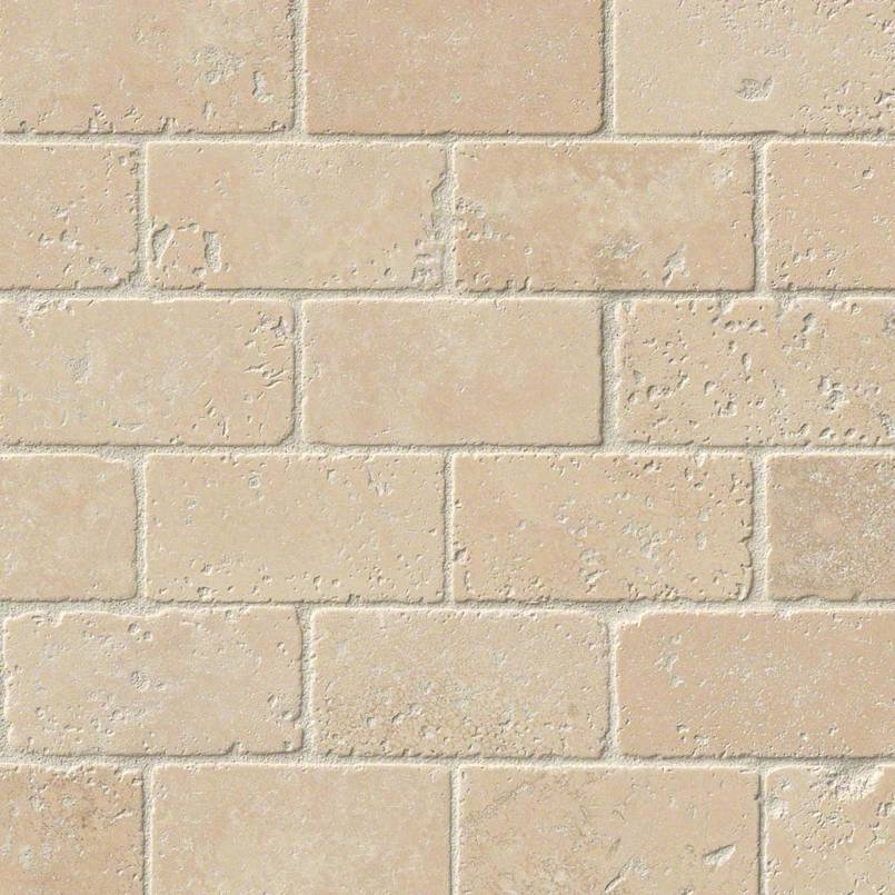 Durango Cream Brick Pattern Subway Tile 2×4