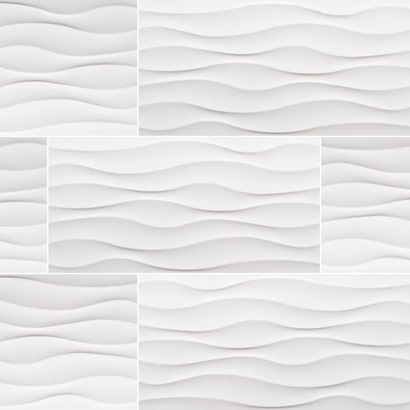 Dymo Wavy White 12×24 Glossy