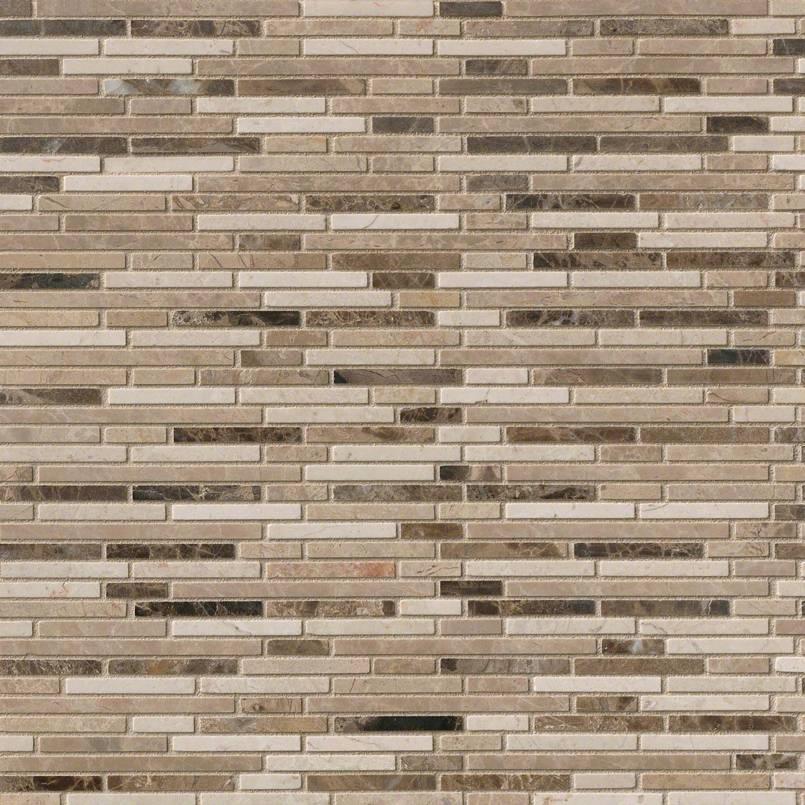Emperador Blend Bamboo Pattern