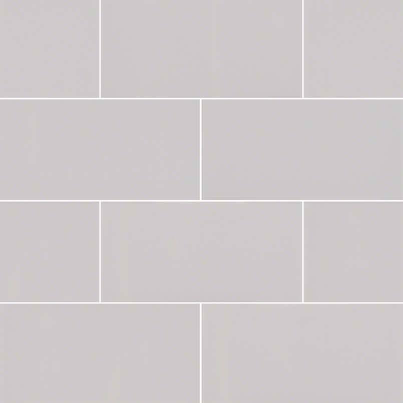 Gray Glossy Subway Tile 3×6