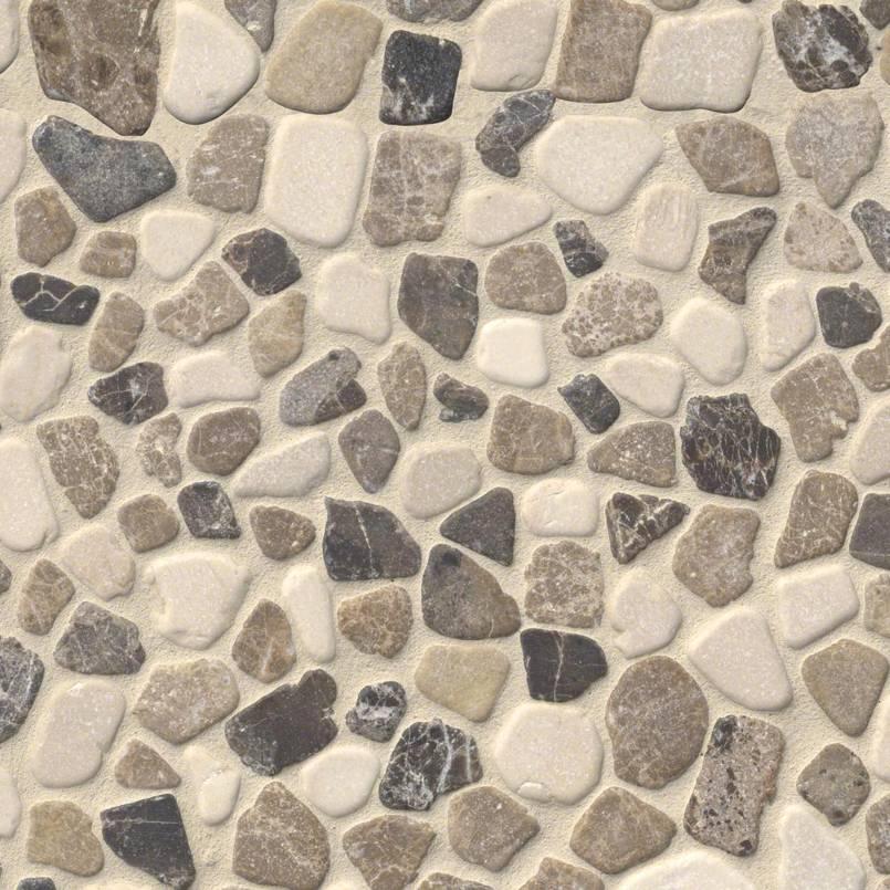 Mix Marble Pebbles Tumbled 10mm