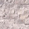 Silver Travertine 2×4 Split Face