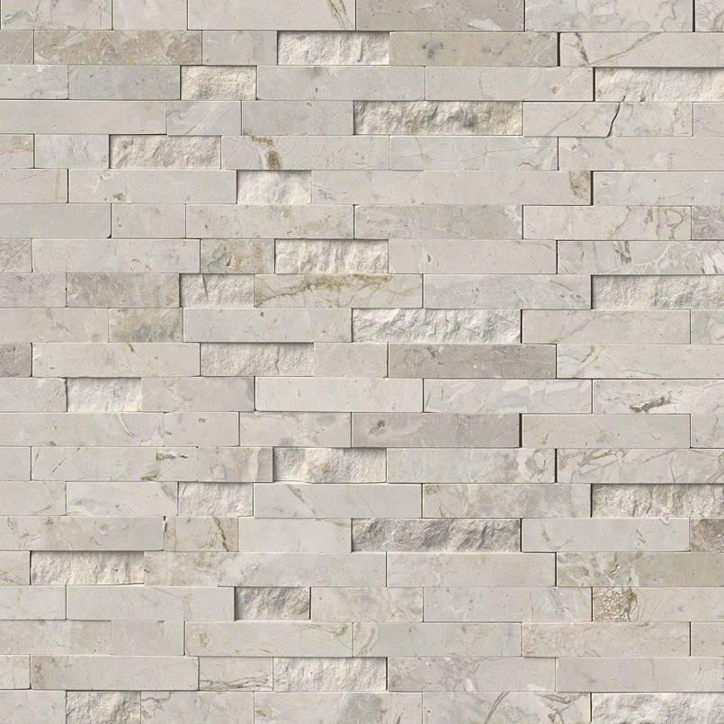 Tundra Gray Splitface Interlocking Pattern