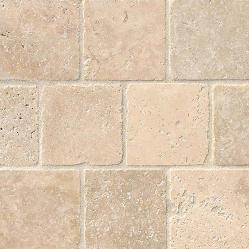 Tuscany Classic 4×4 Tumbled Tile