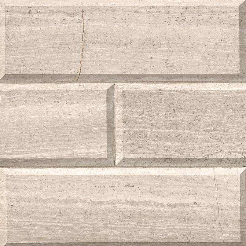 White Oak Subway Tile Honed Beveled 4x12 Countertops