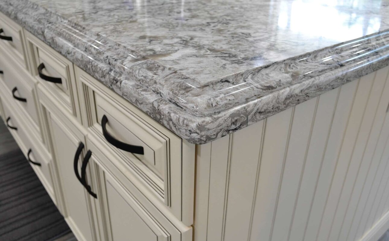 Cambria Quartz Double Edge Ogee