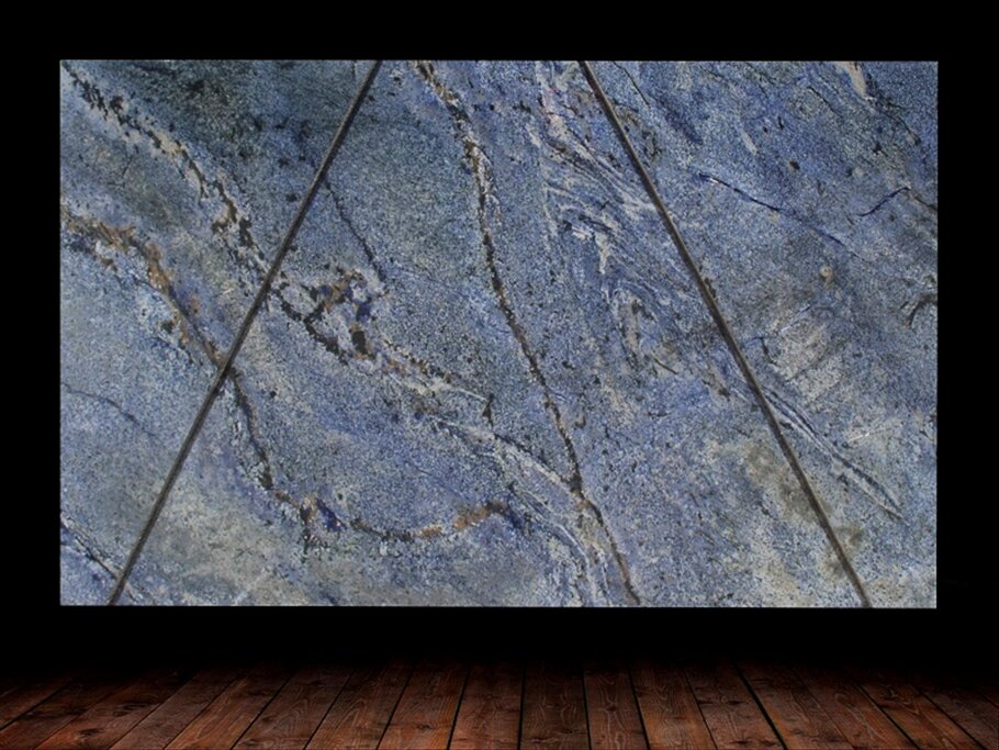 Blue Bahia Granite Slab countertops tampa sarasota clearwater