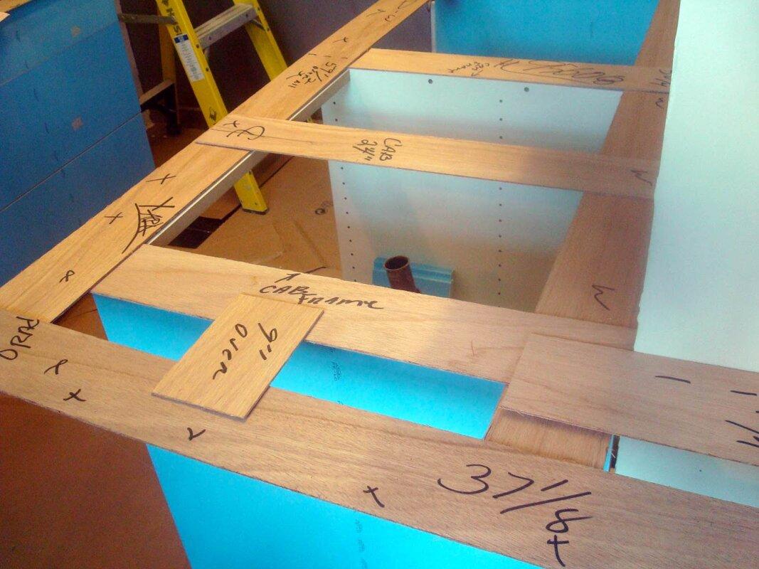 Wood-templating