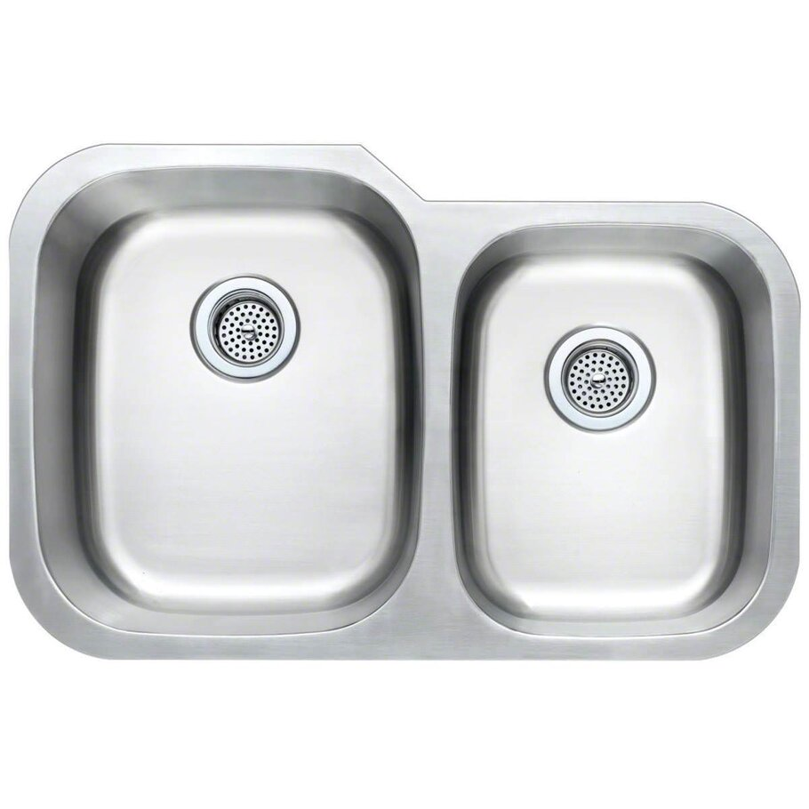 Stainless Steel 60/40 Undermount Sink