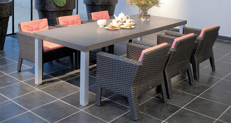 Concrete Caesarstone Quartz Table