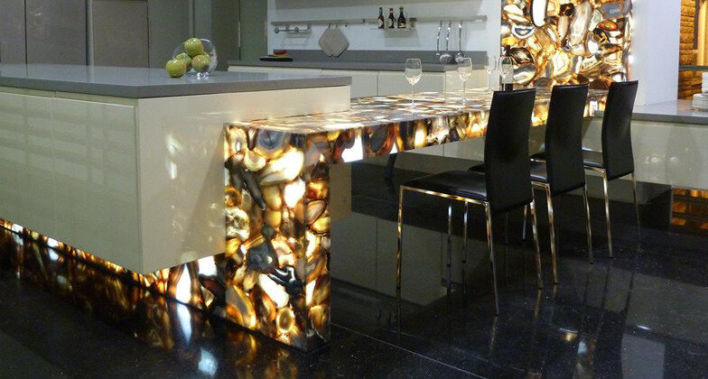 Sfumato Caesarstone Quartz Kitchen