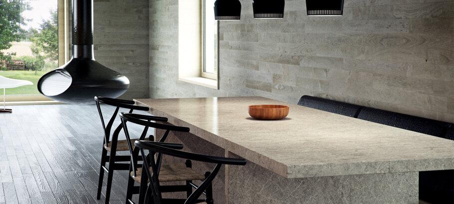 Symphony Grey Caesarstone Quartz Kitchen
