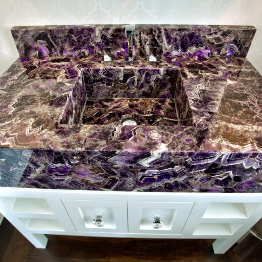 Viola Caesarstone Quartz Bathroom Vanity