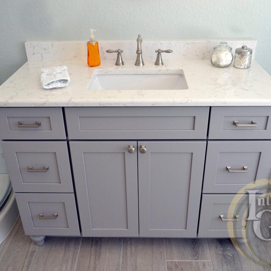 Cambria Quartz Countertops Bath Vanity Sarasota