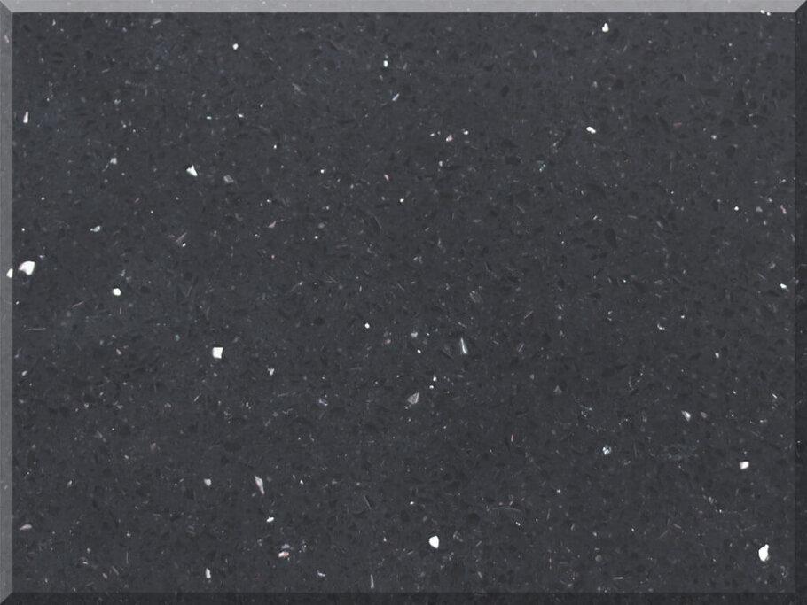 Sparkle Black Pomepeii Quartz