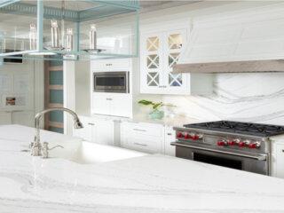 Cambria Quartz Brittanicca Countertops White Kitchen Countertops