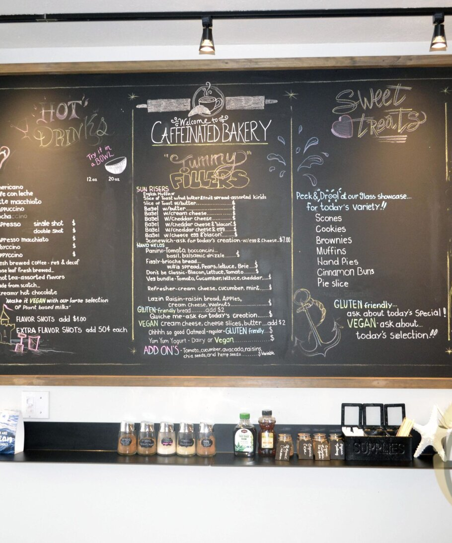 Caffeinated Bakery Clearwater Beach FL
