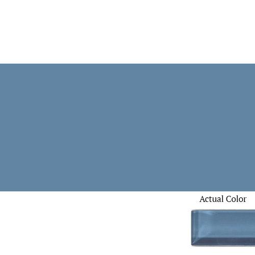 Daltile Color Wave CW14 3x6 Twilight Blue