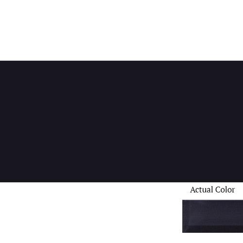 Daltile Color Wave CW20 3x6 Midnight Black