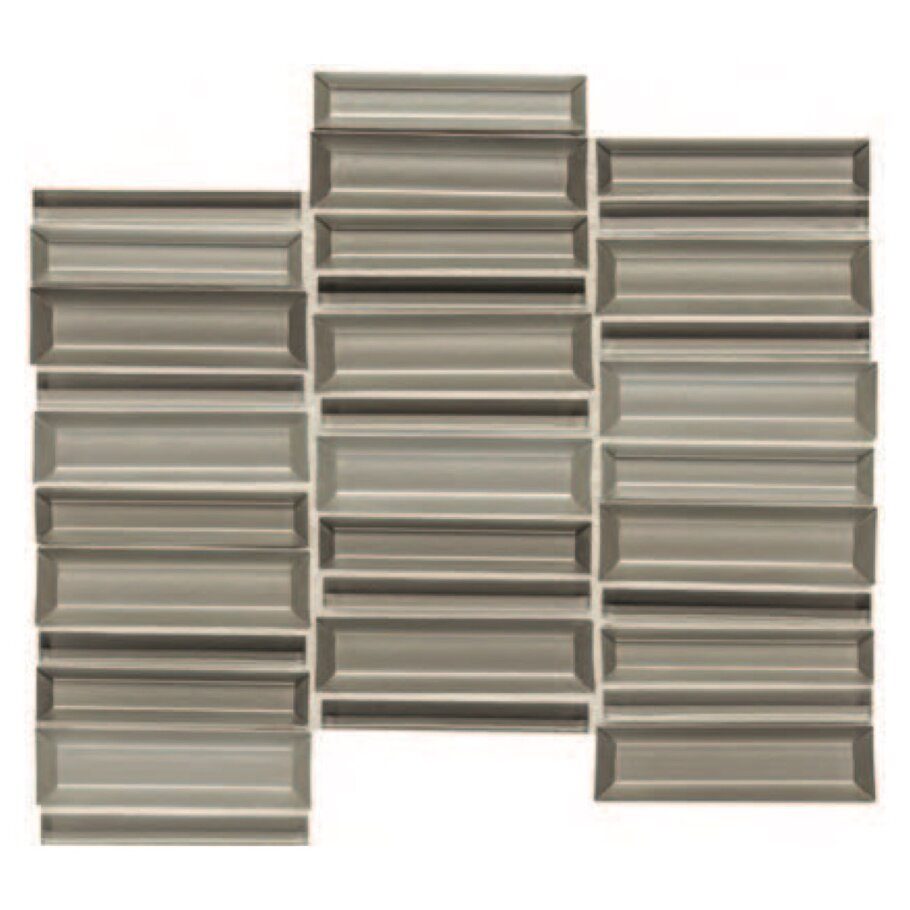 Daltile Cascading Waters CW41 11x4 Silver Surge