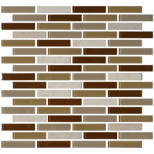 Daltile Mosaic Traditions BP95 5/8 x 3 Caramelo