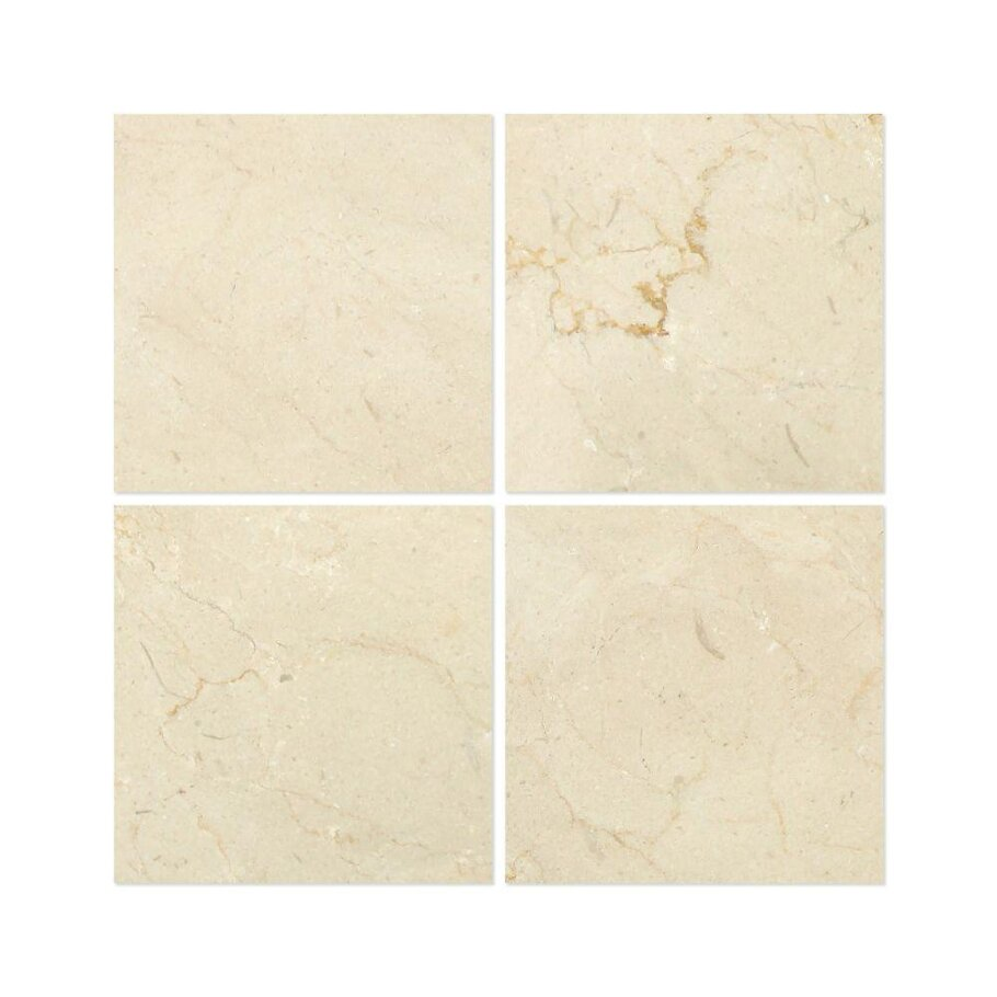 Crema Marfil 6x6 Polished Tile