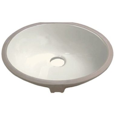 P001-BISQUE PROHS Collection Bisque Undermount Vanity Sink