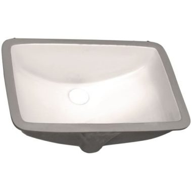 P006-BISQUE PROHS Collection Bisque Undermount Vanity Sink