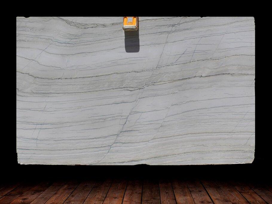 White Macaubus Veincut Quartzite