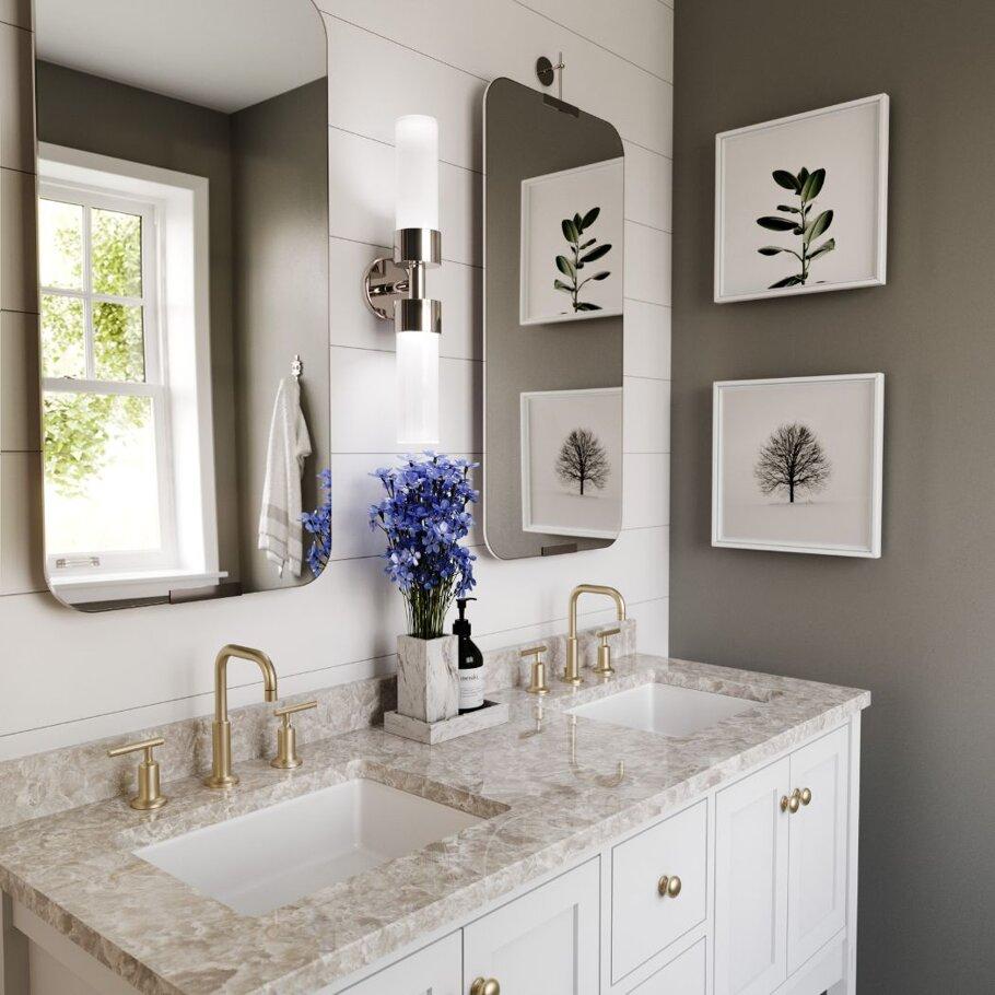 Bellwater Cambria Quartz Home Depot Bathroom Countertops