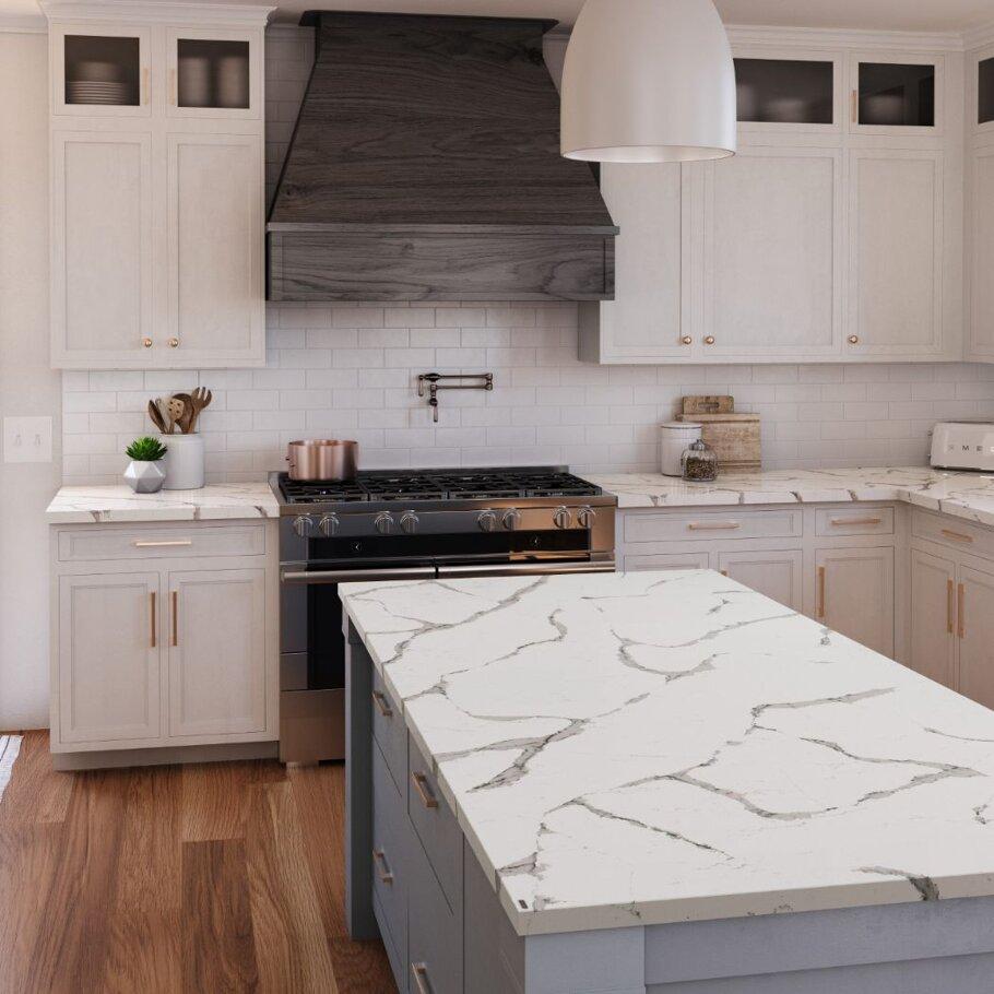 Nadenbrook Cambria Quartz Home Depot Kitchen Bathroom