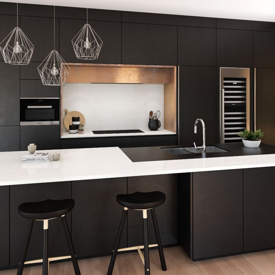 Cambria Smithfield Kitchen and Bathroom
