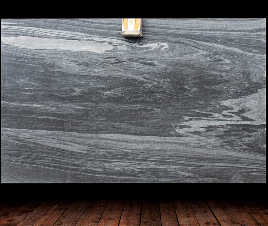 MIRACLE GREY LEATHER FINISH MARBLE