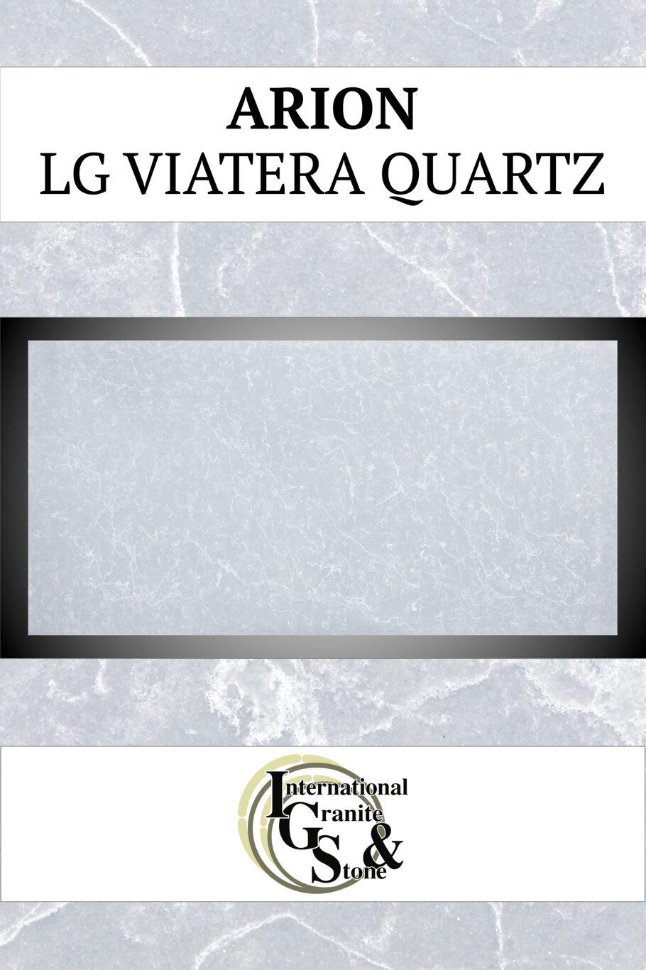 Arion LG Viatera Quartz Countertops