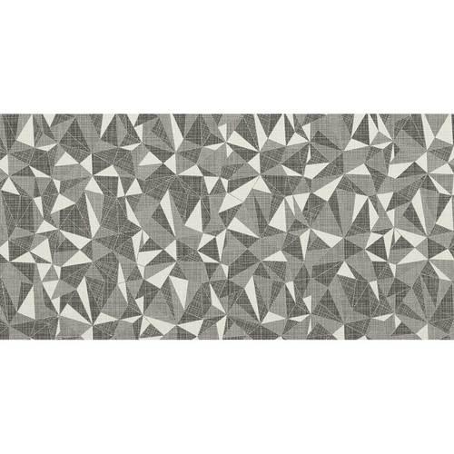 DALTILE FABRIC ART MODERN KALEIDOSCOPE WHITE ASH PRISM MK71-7585