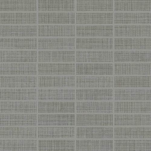 DALTILE FABRIC ART MODERN TEXTILE MEDIUM GRAY MT53-7591