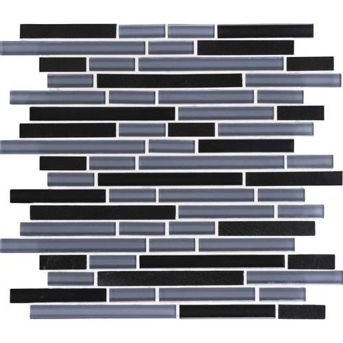 DALTILE GRANITE RADIANCE ABSOLUTE BLACK BLEND GR61-6348