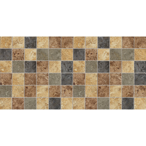 DALTILE HEATHLAND SUNSET BLEND MOSAIC HL08-5659